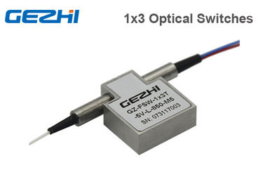 1x3 / 3x1 Latching Prism High Speed Optical Switch 850nm Multimode Wavelenght